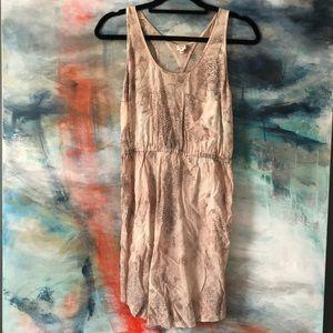 Aritzia Wilfred mini dress silk
